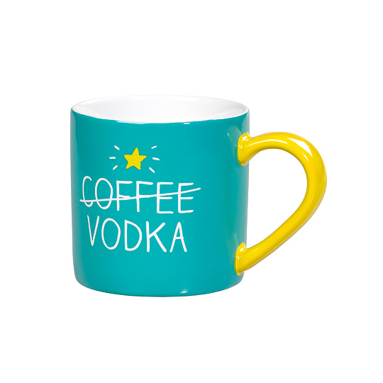 Кружка 'Coffee vs Vodka'