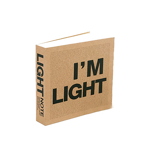 Блокнот 'I Am Light Mini'
