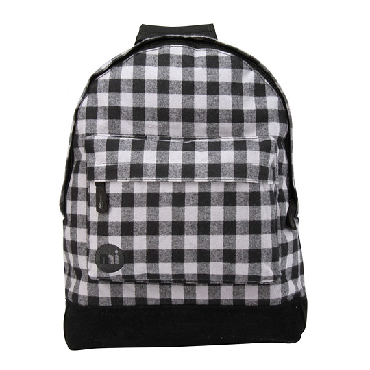 Рюкзак 'Premium Gingham'  / Grey and Black