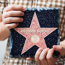 Звезда из камня 'You are a Hollywood star'