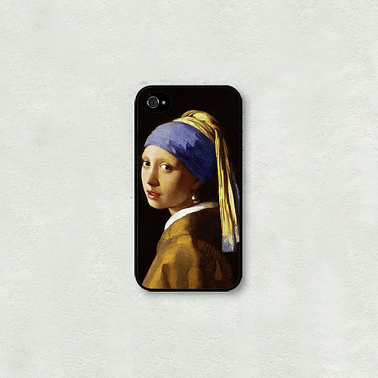 Чехол для телефона 'Girl with a Pearl Earring' - iPhone 5,5S,SE