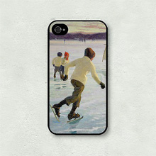 Чехол для телефона 'Out on the ice' - iPhone 5,5S,SE