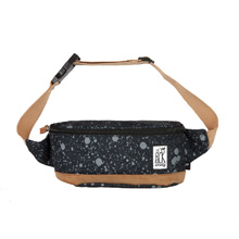 Сумка поясная The Pack Society 'Bum Bag'  / Black Spatters