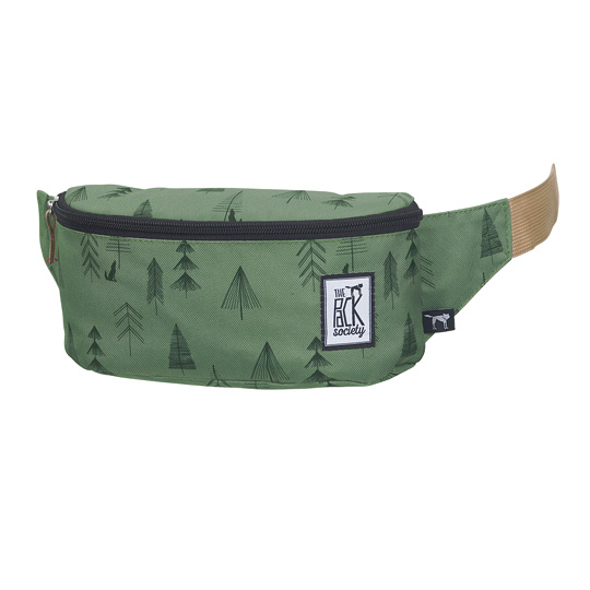 Сумка поясная The Pack Society 'Bum Bag'  / Green Tree
