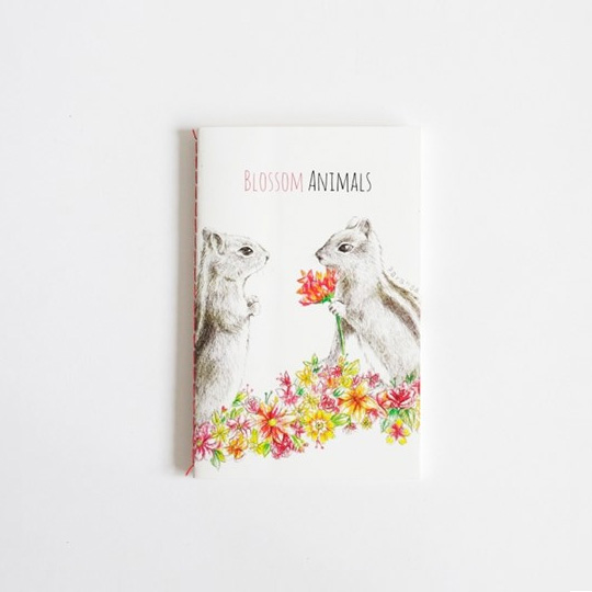Тетрадь 'Blossom Animals'  / Ground-squirrel
