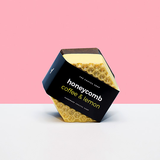 Мыло 'Honeycomb'  / Coffee, Lemon
