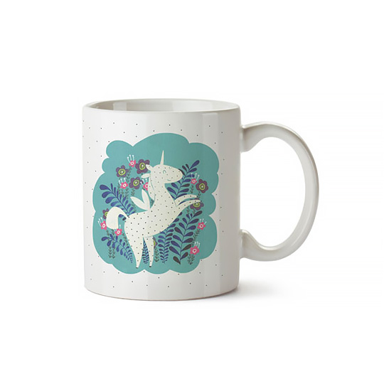 Кружка 'Happy Unicorn'