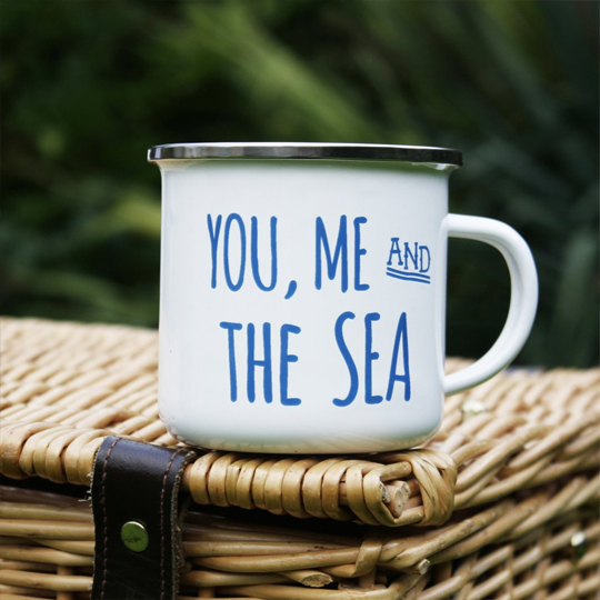Кружка 'You, Me and the Sea'