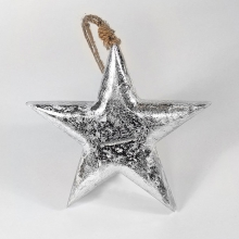 Игрушка елочная 'Silver Star'  / M