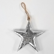 Игрушка елочная 'Silver Star'  / L