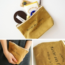 Косметичка 'Invite Pouch' - Mustard