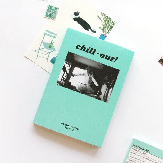 Планинг 'Chill Out'  / Мятный