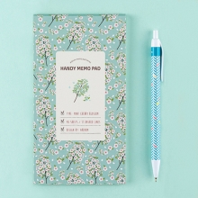 Планинг 'Handy Memo'  / Mint Cherry Blossom
