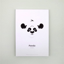 Блокнот 'Face of Nature'  / Panda