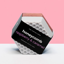Мыло 'Honeycomb'  / Raspberry, Caramel