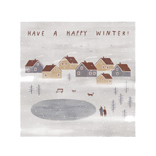 Открытка 'Have a happy winter!'