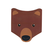 Тетрадь 'Woodland Animals'  / Bear