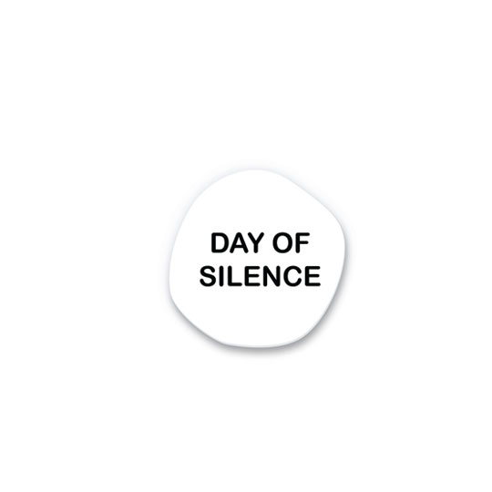 Значок 'Day of Silence'