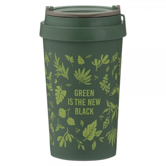 Кружка 'Green is the new black'